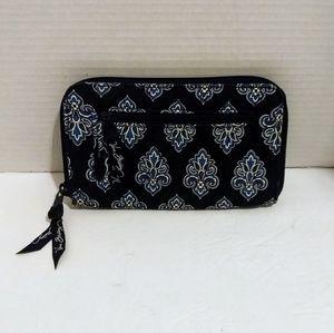 Blue Vera Bradley Wallet